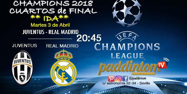 Champions League CUARTOS de Final partido de ida. Martes 3 de Abril ...