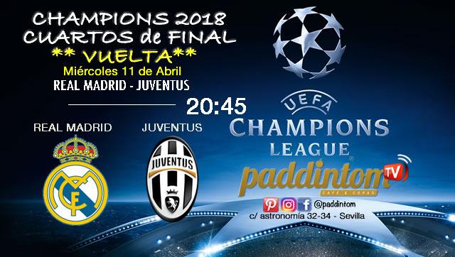 Champions League 2018 Cuartos de Final partidos de vuelta. Miércoles ...