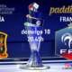 UEFA Nations League. FINAL. Domingo 10 de Octubre a las 20:45, Francia - España. Ven a verlo a Paddintom Café & Copas