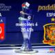 UEFA Nations League. Semifinales. Italia - España, Miércoles 6 de Octubre a las 20:45 y Bélgica - Francia Jueves 7 a las 20.45. Ven a verlo a Paddintom Café & Copas