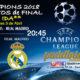 Champions League 2018 Cuartos de Finalpartidos de ida. Martes 3 de Abril a las 20:45. Juventus - Real Madrid. Promoción de tu copa de Ron Barceló a 4€