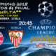 Champions League 2018 Cuartos de Finalpartidos de vuelta. Miércoles 11 de Abril a las 20:45. Bayer de Munich - Sevilla. Ron Barceló a 4€