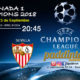 Champions League 2018 Miércoles 13 de Septiembre a las 20:45. Real Madrid - Apoel Nicosia // Liverpool - Sevilla (partido emitido)