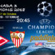 Jornada 3 de laChampions League 2018. Martes 17 de Septiembre a las 20:45 Real Madrid - Tottenham y Spartak de Moscú - Sevilla