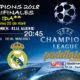 Champions League 2018 Semifinalespartido de ida Miércoles 25 de Abril a las 20:45 Bayern de Munich -Real Madrid. Promoción de tu copa de Ron Barceló a 4€