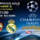 Champions League 2019 Fase de Grupos Jornada 2. Martes 8 de Octubre a las 21:00 CSKA-Real Madrid // Manchester United - Valencia. Promoción Ron Barceló a 4€
