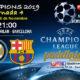 Champions League 2019 Fase de Grupos Jornada 4Martes 6 de Noviembre a las 21:00h Inter de Milán -Barcelona y At. de Madrid -Borussia Dortmund.