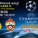 Champions League 2019 Fase de Grupos Jornada 6 Miércoles 12 de Diciembre Real Madrid -CSKA Moscú a las 18.55h // Valencia - Manchester United a las 21.00h