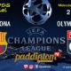 Champions League 2019 Octavos de Final partidos de vueltaMiércoles 13 de Marzo FC Barcelona -Olympic de Lyon a las 21.00hTV en Paddintom Café & Copas
