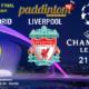 Champions League 2021 - Cuartos de Final. Martes 6 de Abril, Real Madrid - Liverpool a las 21.00h. Ven a verlo a nuestras pantallas de TV en Paddintom Café & Copas
