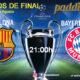 Champions League 2020 Cuartos de Final. Viernes 14 de Agosto. Barcelona - Bayern Munich a las 21.00h. Promoción copa Ron Barceló a 4€. Ven a verlo a Paddintom Café & Copas