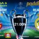 Champions League 2020 Jornada 3, Martes 22 de Octubre. Galatasaray - Real Madrid a las 21.00h y Atlético de Madrid - Bayern Leverkusen a las 18.55h.