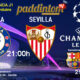 Champions League 2021 - Fase de Grupos. Jornada 1. Martes 20 de Octubre. Barcelona - Ferencvarosi ST a las 21.00h y Chelsea - Sevilla a las 21.00h. Ven a verlos a Paddintom Café & Copas