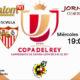 Jornada 8 de la Copa del Rey 2018 Cuartos de final donde podremos disfrutar del partido de IDA. Miércoles 17 de Enero: At. de Madrid - Sevilla a las 19,00h