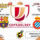 Jornada de la Copa del Rey 2019 Cuartos de final partidos de ida. Miércoles 23 de Enero Sevilla-Barcelona 21,30h // Jueves 24 de Enero Espanyol-Betis 19,30h