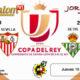 Jornada de la Copa del Rey 2019 Octavos de final Jueves 10 de EneroAtlhetic de Bilbao - Sevilla a las 19,30h y Betis - Real Sociedad a las 20,3