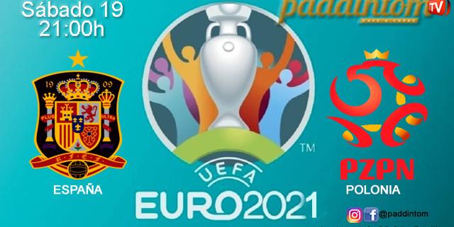 UEFA Euro 2021. Jornada 4. Sábado 19 de Junio, Portugal - Alemania a las 18.00hy España - Polonia a las 21.00h. Promoción copa de J&B a 4€ en Paddintom Café & Copas