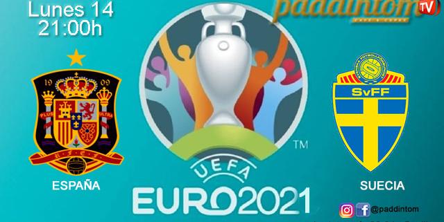 UEFA Euro 2021. Jornada 3. Lunes 14 de Junio, España - Suecia a las 21.00h. Disfruta de nuestra promoción de tu J&B a 4€ con tu grupo de amigos en nuestras pantallas de TV en Paddintom Café & Copas
