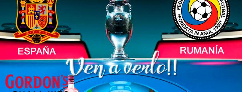 ⚽??EURO 2020 Clasificación. Lunes 18 de Noviembre. España - Rumanía a las 20.45h. Promoción copa de?‼️Ron Barceló a 4€. TV en Paddintom Café & Copas