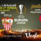 Europa League FASE PREVIA 2019. Segunda Ronda Jueves 2 de Agosto a las 21,00h. Újpest - Sevilla. Promoción de tu copa de Ron Barceló a 4€
