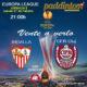 Europa League 2020 Jornada 8. Jueves 27 de Febrero, Sevilla - CFR Cluj a las 21.00h. Promoción copa Ron Barceló a 4€ en Paddintom Café & Copas