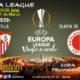 Europa League 2019 Octavos de Final partido de ida Jueves 7 de MarzoSevilla - Slavia de Praga a las 18.55h. Promoción de tu copa de Ron Barceló a 4€