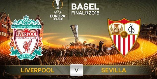 Final de la Europa League 2016 entre el Liverpool y el Sevilla