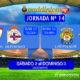 Jornada 14 Liga Santander 1ª División Sábado 02 Diciembre: Sevilla - Deportivo Coruña a las 18,30h. Domingo 03 Diciembre: Las Palmas - Betis a las 20,45h