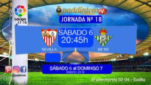 019fff1ba Jornada 18 Liga Santander 1ª División. El derbi más esperado entre el  Sevilla FC y