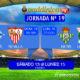 ornada 19 Liga Santander 1ª División. Domingo 14 de Enero: Alavés - Sevilla a las 16,15h - Lunes 15 de Enero: Betis - Leganés a las 21,00h