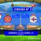 Jornada 23 Liga Santander 1ª División. Domingo 11 de Febrero: Sevilla - Girona a las 12,00h // Lunes 12 de Febrero: Deportivo - Betis a las 21,00h