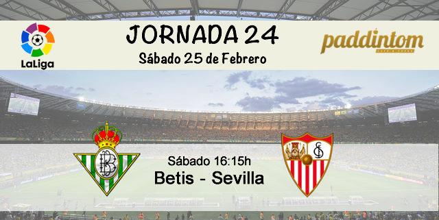Sábado 25 de Febrero: Betis - Sevilla a las 16.15h