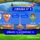 Jornada 8 Liga Santander 1ª División. Sábado 14 de Octubre: At Bilbao - Sevilla a las 13,00h Domingo 15 de Octubre: Betis - Valencia a las 20,45h