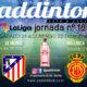 Jornada 18 Liga Santander 1ª División. Sábado 21 de Diciembre, Mallorca - Sevilla a las 13.00h y Domingo 22 de Diciembre, Betis - Atlético de Madrid a las 16.00h