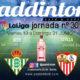 Jornada 30 Liga Santander 1ª División.Sevilla - Barcelona, Viernes 19 a las 22.00h y At. Bilbao - Betis, Sábado 20 a las 17.00h Ven a verlo a Paddintom Café & Copas