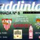 Jornada 6 Liga Santander. JORNADA ENTRE SEMANA! Martes 24 de Septiembre Betis - Levante a las 20.00h y Jueves 26 de Septiembre Eibar - Sevilla a las 19.00h