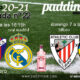 Jornada 22 Liga Santander 1ª División. Sábado 6 de Febrero, Huesca - Real Madrid a las 16.15h y Domingo 7 de Febrero, Bilbao - Valencia a las 16.15h. Ven a verlos a Paddintom Café & Copas