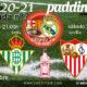 Jornada 7 Liga Santander 1ª División. Sábado 24 de Octubre, Barcelona - Real Madrid a las 14.00h, Sevilla - Eibar a las 18.30h y Atl. Madrid - Betisa las 21.30h. Vente a verlos a Paddintom Café & Copas
