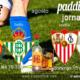 Jornada 1 Liga Santander. Sábado 14 de Agosto, Mallorca - Betis a las 19.30h y Domingo 15 de Agosto, Sevilla - Rayo Vallecano las 22.15h. Promoción copa J&B a 4€. Ven a Paddintom Café & Copas