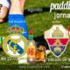 Jornada 3 Liga Santander. Sábado 28 de Agosto, Betis - Real Madrid a las 22.00h y Elche - Sevilla a las 19.00h. Promoción copa de J&B a 4€. Ven a Paddintom Café & Copas