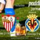 Jornada 8 Liga Santander. Domningo 3 de Octubre, Villarreal - Betis a las 18.30h y Granada - Sevilla a las 21.00h. Copa J&B a 4€. Ven a Paddintom Café & Copas