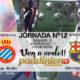Jornada 12 Liga Santander 1ª División 18-19 Barcelona - Betis a las 16.15h* Sevilla - Espanyola las 18.30h. TV en Paddintom Café & Copas