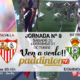 Jornada 9 Liga Santander 1ª División Sábado 20 de Octubre: Barcelona - Sevilla a las 20.45h// Domingo 21 de Octubre: Betis - Valladolida las 20.45h