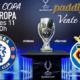 Súper Copa de Europa. Miércoles 11 de Agosto, Chelsea - Villarreal a las 21.00h. Promoción copa de J&B a 4€. Ven con tu grupo de amigos a Paddintom Café & Copas