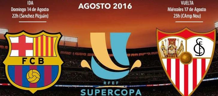 Final de la Super copa de España 2016